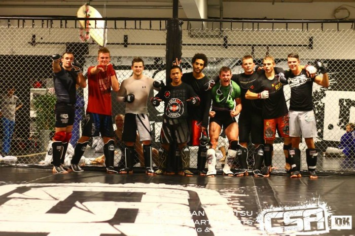MMA tryout